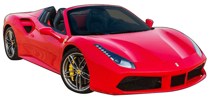Rent Ferrari 488 Spider in Dubai