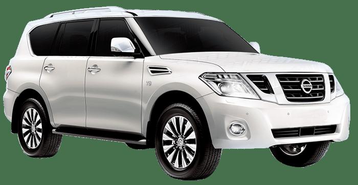 Rent Nissan Patrol Platinum in Dubai