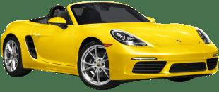 Rent Porsche Boxster 718 in Dubai