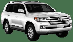 Rent Toyota Land Cruiser in Dubai