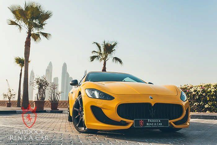 Maserati Grancabrio For Rent In Dubai At Paddock