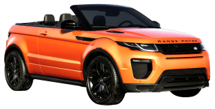 Rent Range Rover Evoque Convertible in Dubai