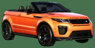 Rent Range Rover Evoque Convertible in Dubai
