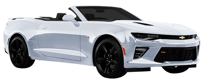 Rent Chevrolet Camaro V8 Convertible in Dubai