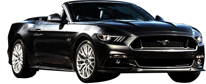 Rent Ford Mustang V8 Convertible in Dubai