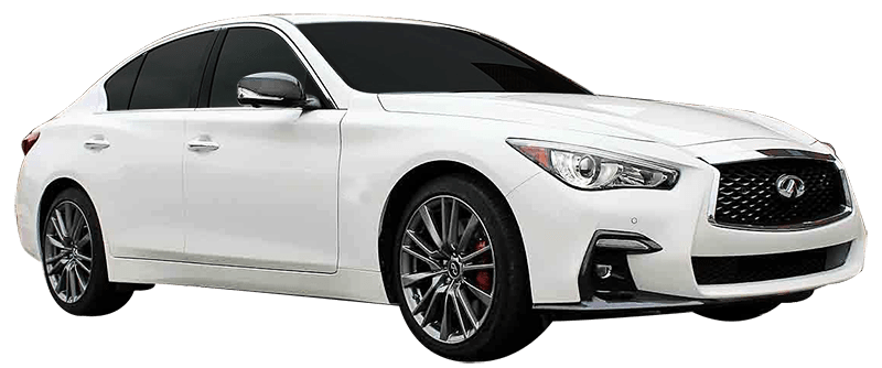 infiniti q50 for rent in dubai at paddock