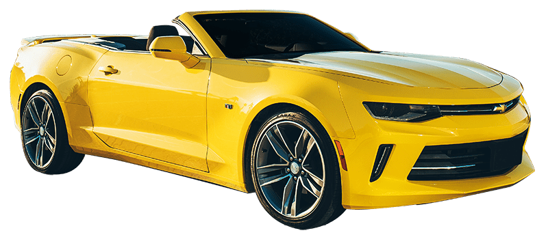 Rent Chevrolet Camaro V8 Convertible in Dubai