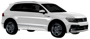 Rent Volkswagen Tiguan in Dubai