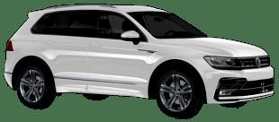 Rent Volkswagen Tiguan in Dubai