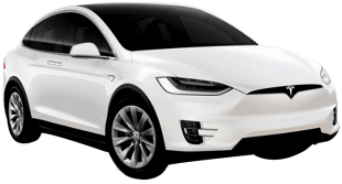 Rent Tesla Model X in Dubai