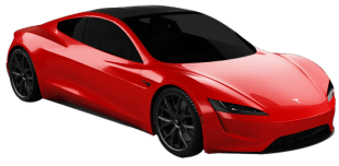 Rent Tesla Roadster in Dubai