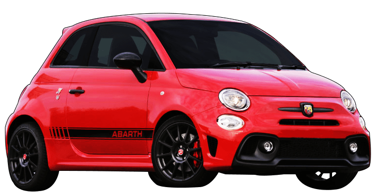 Rent Fiat Arbath 595 Convertible in Dubai